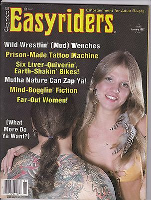 Easyriders Motorcycle Magazine JANUARY 1982 JAN