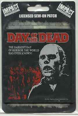 DAY OF THE DEAD darkest 2014 WOVEN SEW ON PATCH official IMPORT George A. Romero