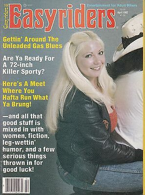 Easyriders Motorcycle Magazine APRIL 1982 APR