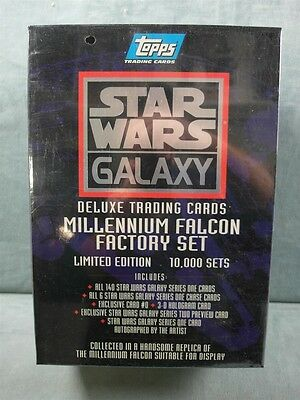 Star Wars Millennium Falcon Factory Set Topps Trading Cards 1993 SEALED