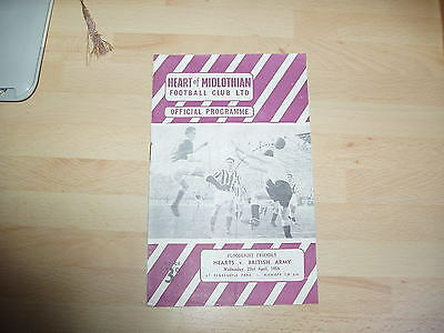 Hearts v British Army Friendly 1957/8