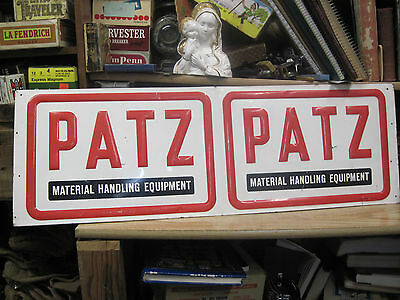 Patz Material Handling Equipment Out Door Farm Metal Sign  Machinery St Louis M