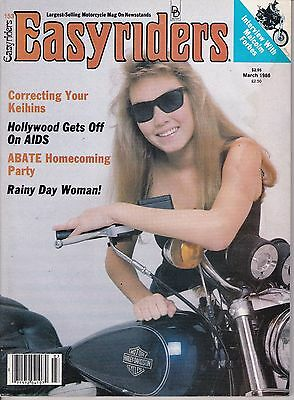 Easyriders Motorcycle Magazine MARCH 1986 MAR