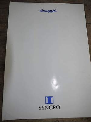 Eight (8) Campagnolo Product Range Catalogues