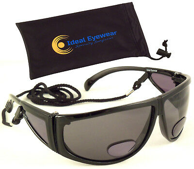 0f969a2efc Bifocal Sunglasses Polarized Fishing Tinted Reading Glasses Sun Readers  Golf Fly