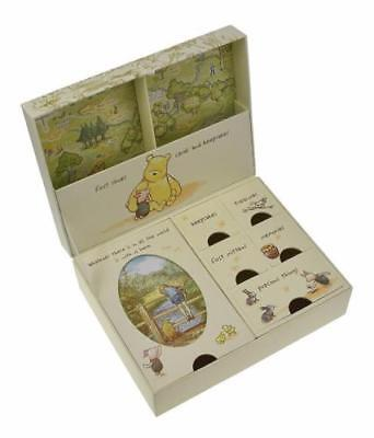 Disney Classic Pooh Keepsakes Baby Box with Compartments NEW D1167
