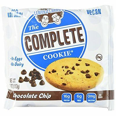 Lenny & Larry's The Complete Cookie Chocolate Chip Cookies - Pack of 12