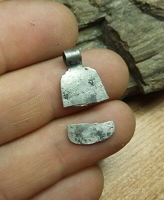 Authentic Roman  Silver Pendant - Amulet #2289