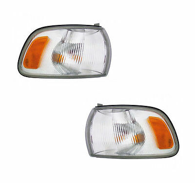 PAIR Corner Lights - Driver & Passenger Side - Fits 1991-1997 Toyota Previa