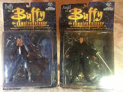 buffy the vampire figures series 1 buffy and angel