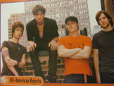 All American Rejects, Ashlee Simpson, Double Full Page Pinup
