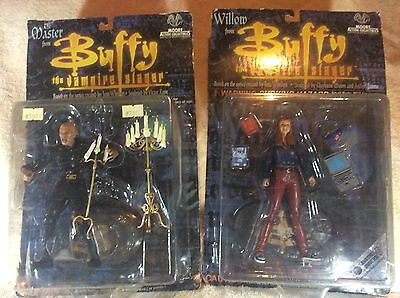 two rare buffy the vampire figures the first and varient willow figures