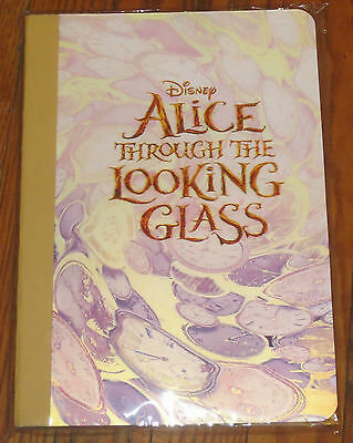 Disney Alice Through The Looking Glass COLLECTIBLE 3-D Notebook