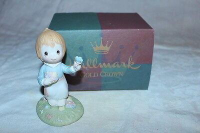 """Betsey Clark Hallmark Figurine""""Thoughts of You,Like Lovely Flowers....."""