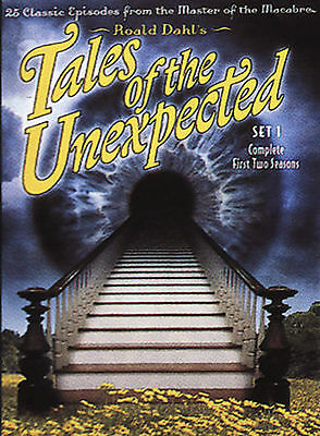 Tales of the Unexpected Set 1 (DVD, 2004, 4-Disc Set) Complete First Two Seasons