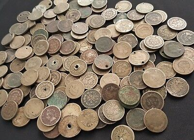 95✯ 1859-1864 Copper Nickel Old U.S. Indian Head Penny Cent CULL Coins ✯ 1 COIN