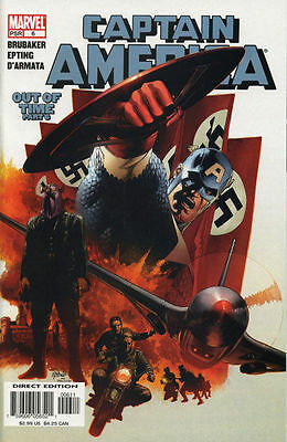 CAPTAIN AMERICA #6 1st WINTER SOLDIER Marvel Comic FIRST Print Near Mint NM