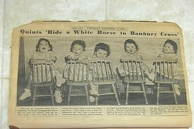 Antique Dionne Quintuplets Babies Scrapbook -- 92 Pages!