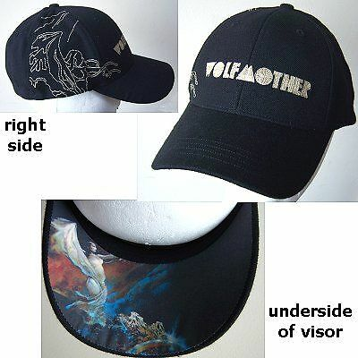 Wolfmother! Frazetta Sea Witch Baseball Hat Cap New
