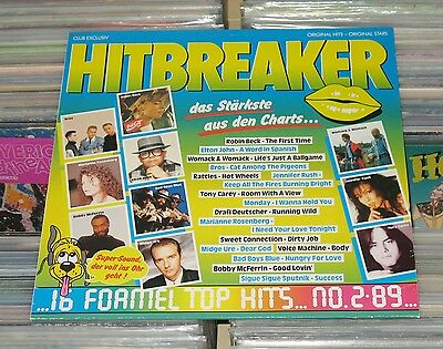 Hitbreaker - LP (mint-) Top Hits No. 2/89 - Bad Boys Blue, Rattles, Midge Ure