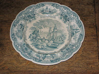Old C W Smith & Co Teeside  Select Views Dinner Plate Wedgwood Int