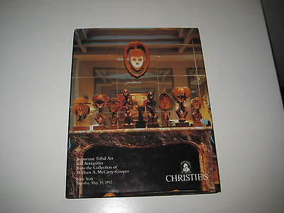 Christies Catalogue Imp Tribal Art Antiquities From Collection Mccarty-Cooper