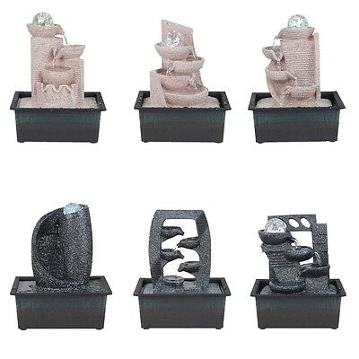 Room fountain from artificial stone in 6 different Designs