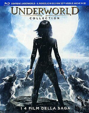 Underworld Collection  3D   3 Blu-Ray + Blu Ray 3D