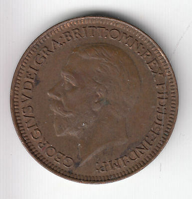 Gb 1/4D 1931 Copper Ef+    72C         By Coinmountain