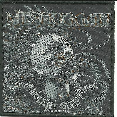 MESHUGGAH head the violent sleep 2016 - WOVEN SEW ON PATCH official merchandise