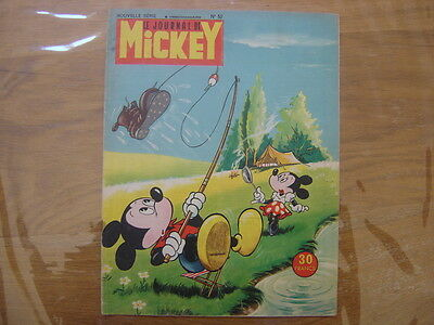 1953 Le Journal de MICKEY nouvelle serie numero 52