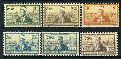 16-10-05981 - Syria 1942 Mi.  456-461 MNH 100% Proclamation of Independence