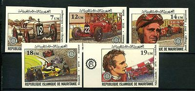 16-10-05416 - Mauritania 1982 Mi.  749-753 MNH 100% Imperf. Great price of franc