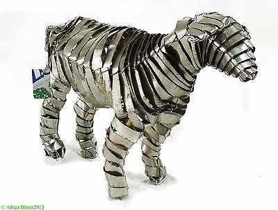 Lamb Soda Cans Sculpture South African Art