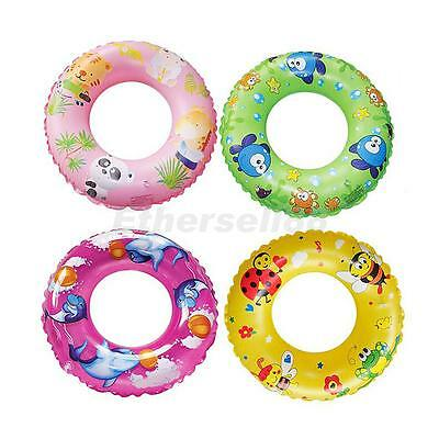Kids Child Inflatable Swim Ring Tyre Tube Beach Swimming Pool Aid Toy Float Ring