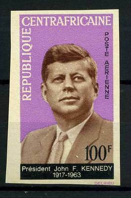 16-10-05676 - Central Africa 1964 Mi.  63 MNH 80% Imperf. President Kennedy