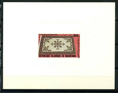 16-10-05481 - Mauritania 1989 Mi.  959 SS 80% Deluxe BL. MNH The carpet