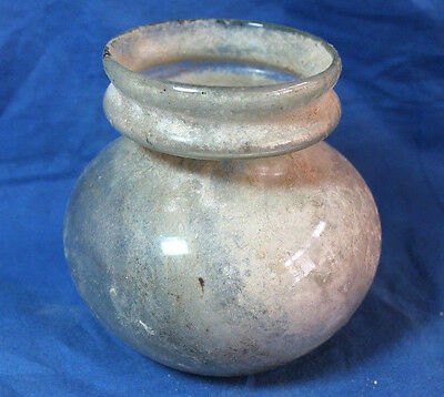 Holy Land JUDAEA ancient Roman Glass JAR 4 cen AD. Antiquitires Archaeology