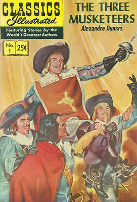 CLASSICS ILLUSTRATED #1 G, HRN 169, stiff cover, Gilberton Company 1971