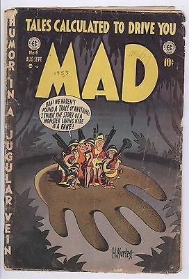 Mad Comic #6 (1953) GD EC Golden Age