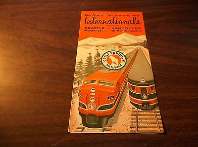 September 1957 Great Northern Internationals Brochure