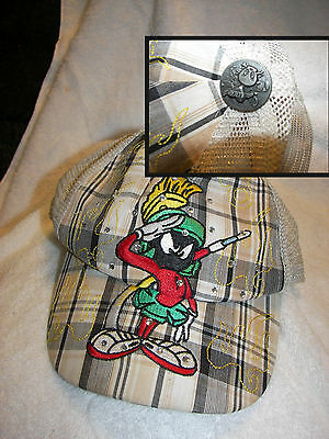 Warner Bros Looney Tunes Marvin the Martian Plush  childrens cap  nice clean