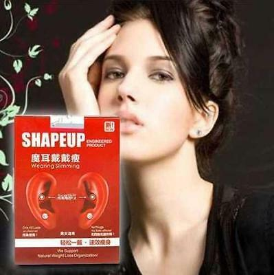 Weight Loss Earrings Slimming Healthy Acupoints Stud Magnetic Therapy Kits Q