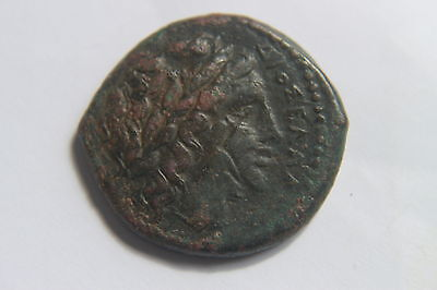 ANCIENT GREEK SICILY BRONZE COIN 3rd CENTURY BC