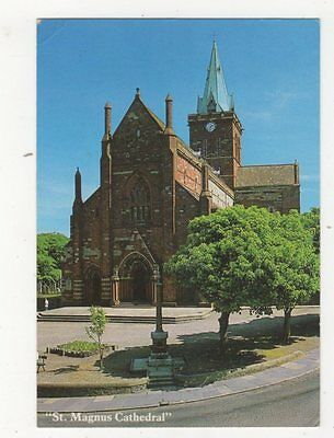 St Magnus Cathedral Kirkwall Orkney 1988 Postcard 562a