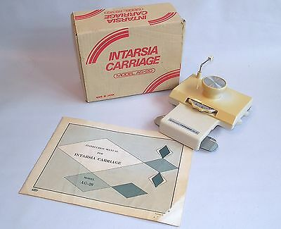 Vintage Empisal Knitmaster Ag 20 Intarsia Carriage For Knitting Machine.