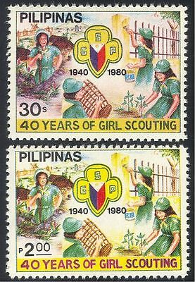 Philippines 1980 Scouting/Girl Scouts/Guides 2v n30379