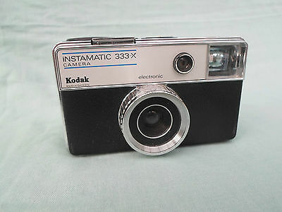Kodak Instamatic 333-X Electronic Camera