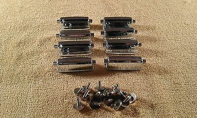 Set of 8 Pearl 'centre lugs' for snare drum.