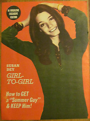 Susan Dey, The Partridge Family, Full Page Vintage Pinup